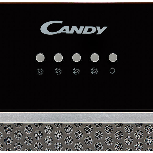 Candy CBG625/1W Built In Canopy Cooker Hood - White - CBG625/1W_WH - 2