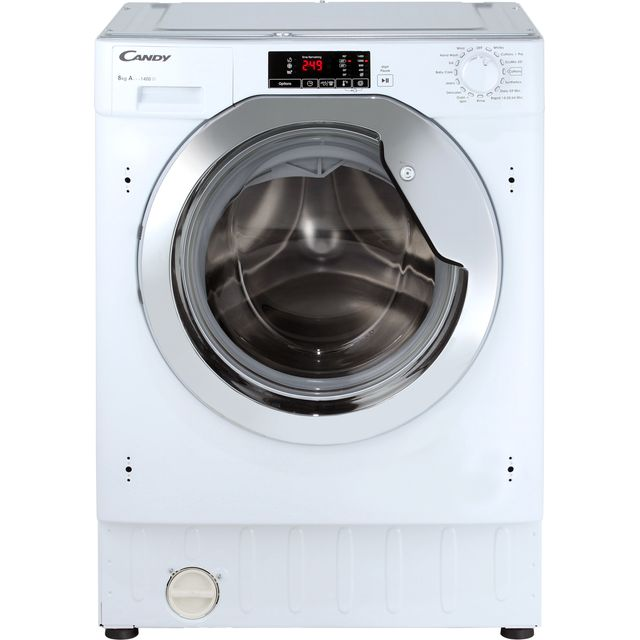 Candy CBWM814DC Integrated 8Kg Washing Machine with 1400 rpm