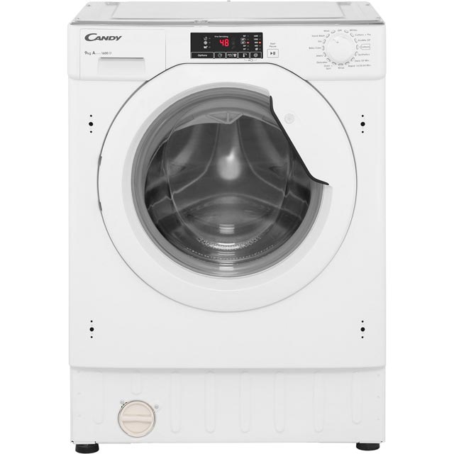 Candy CBWM916D Built In 9Kg Washing Machine - White - CBWM916D_WH - 1