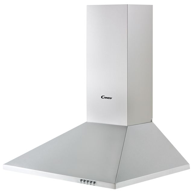 Candy CCE116/1X 60 cm Chimney Cooker Hood - Stainless Steel - CCE116/1X_SS - 2