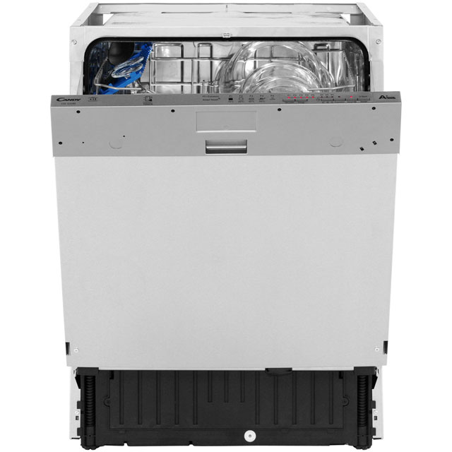 Candy CDI1LS38S Built In Standard Dishwasher - Silver - CDI1LS38S_BK - 2