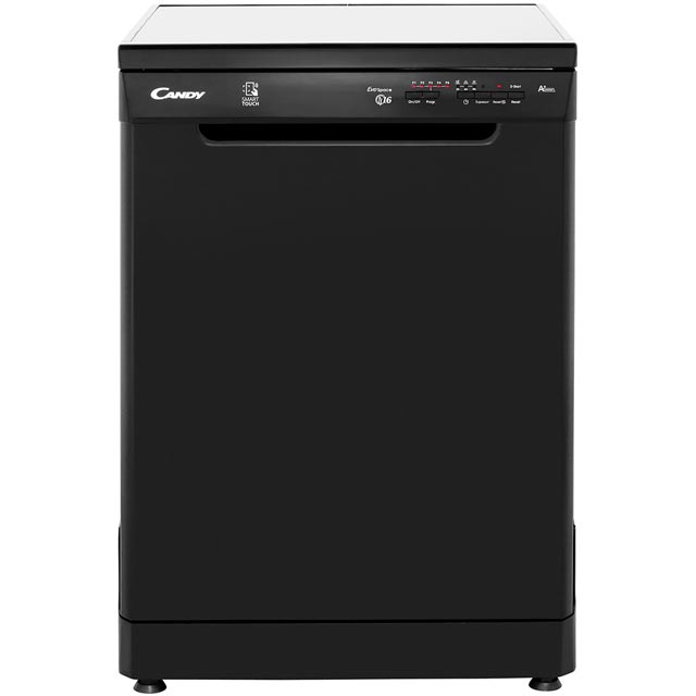 Candy CDP1LS67B Standard Dishwasher - Black - A+ Rated