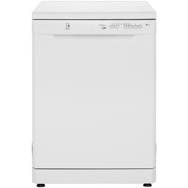 Candy CDP1LS67W Standard Dishwasher - White - A+ Rated Best Price, Cheapest Prices