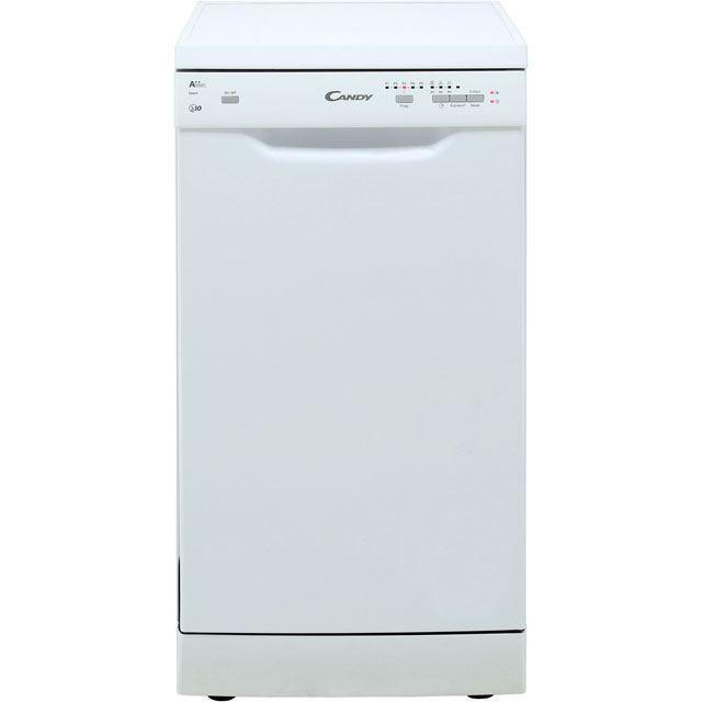 Candy CDP2L1049W Slimline Dishwasher - White - A++ Rated - CDP2L1049W_WH - 1
