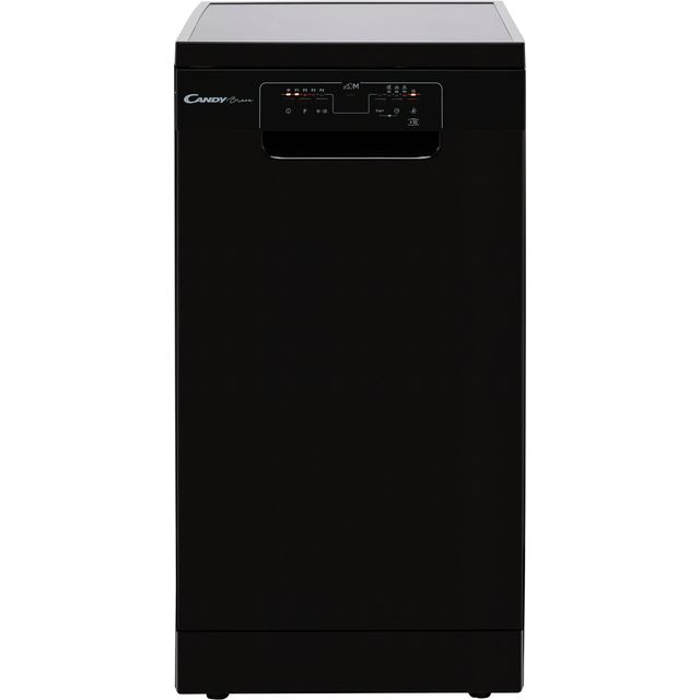 Candy CDPH2L1049B Slimline Dishwasher - Black - E Rated