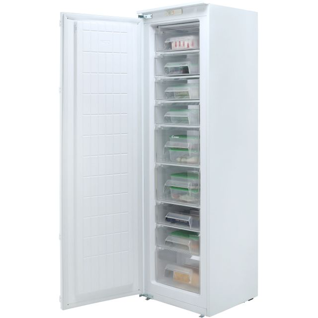 Candy CFFO3550E/1K Integrated Upright Freezer with Sliding Door Fixing Kit
