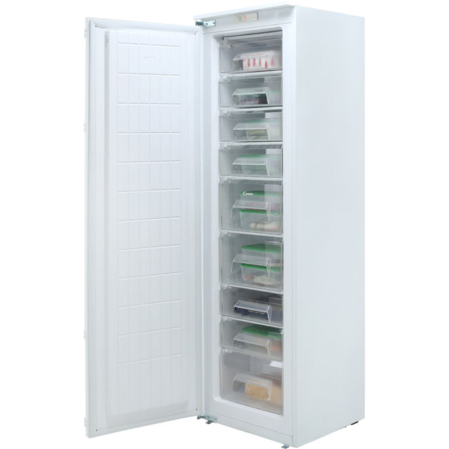 Candy CFFO3550E/1K Built In Upright Freezer - White - CFFO3550E/1K_WH - 3