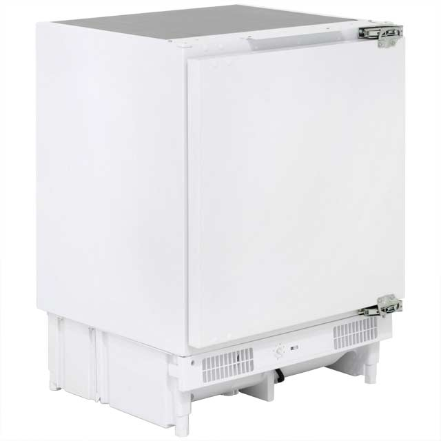Candy CFU130EK Integrated Under Counter Freezer with Fixed Door Fixing Kit - A+ Rated - CFU130EK_WH - 1