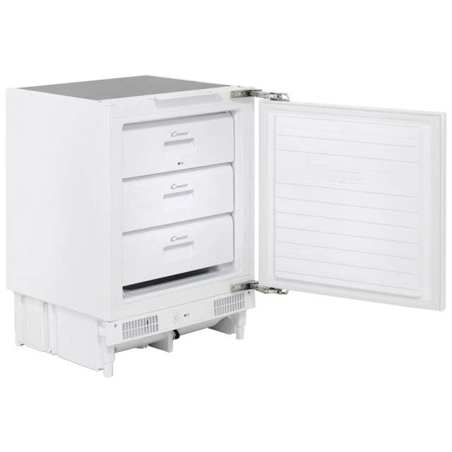 Candy CFU130EK Integrated Under Counter Freezer CFU130EK_WH