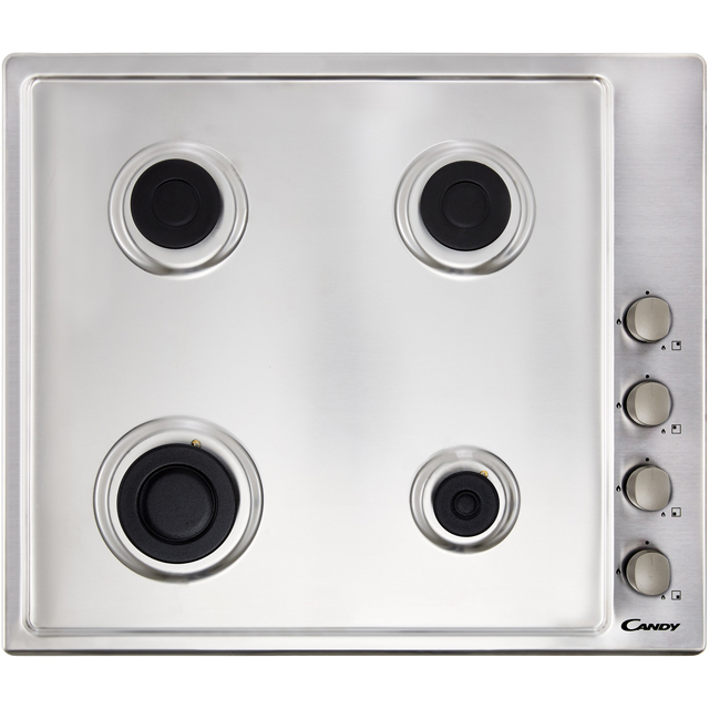 Candy CHG6LX Built In Gas Hob - Stainless Steel - CHG6LX_SS - 2