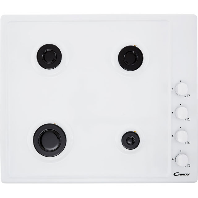 Candy CHW6LWW Built In Gas Hob - White - CHW6LWW_WH - 3