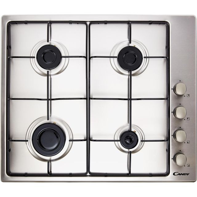 Candy CHW6LX Built In Gas Hob - Stainless Steel - CHW6LX_SS - 1