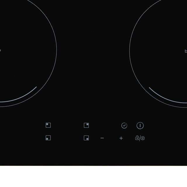 Candy CIC642 Built In Induction Hob - Black - CIC642_BK - 2