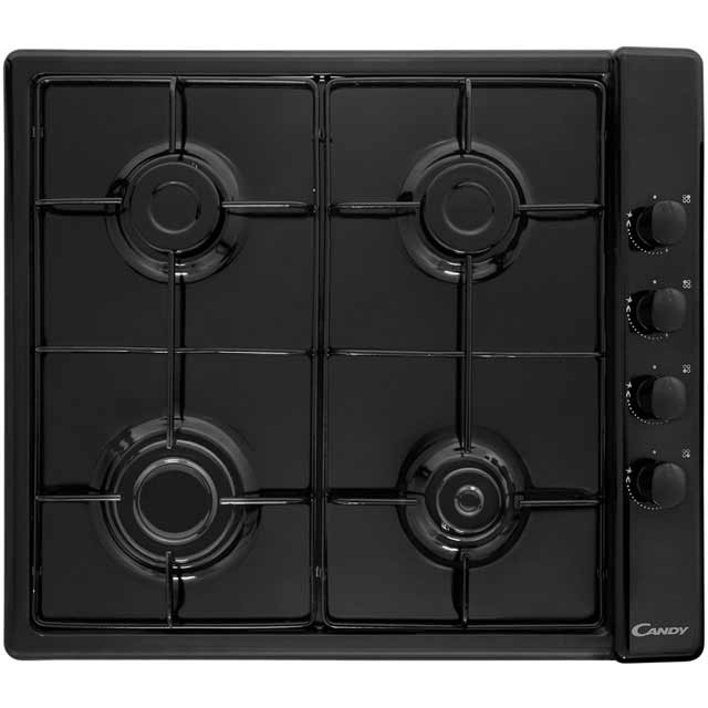 Candy Plan CLG64SPN 58cm Gas Hob - Black