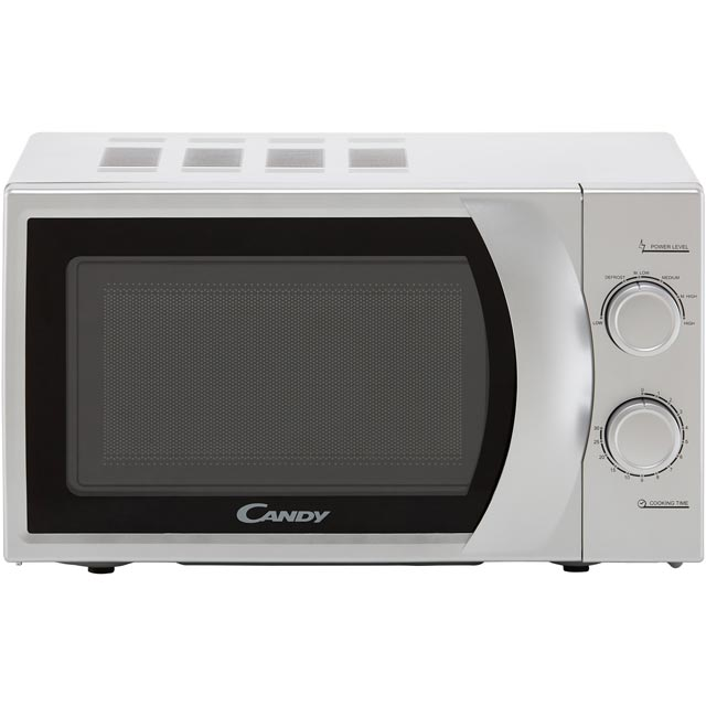 Candy CMW 2070S-UK 20 Litre Microwave - Silver - CMW 2070S-UK - 1