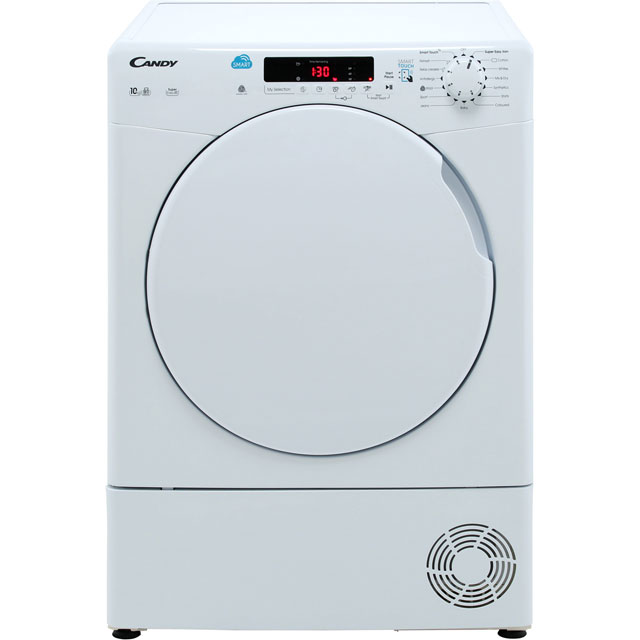 Candy Smart CSC10DF Condenser Tumble Dryer - White - CSC10DF_WH - 1