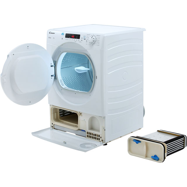 Candy Smart CSC10DF Condenser Tumble Dryer - White - CSC10DF_WH - 4