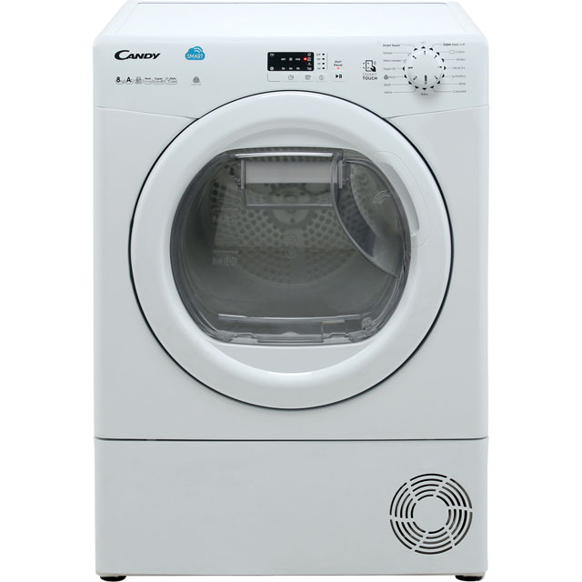 Candy Smart CSH8A2LE 8Kg Heat Pump Tumble Dryer - White - A++ Rated - CSH8A2LE_WH - 1