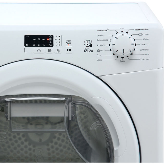 Candy Smart CSH8A2LE 8Kg Heat Pump Tumble Dryer - White - A++ Rated - CSH8A2LE_WH - 3