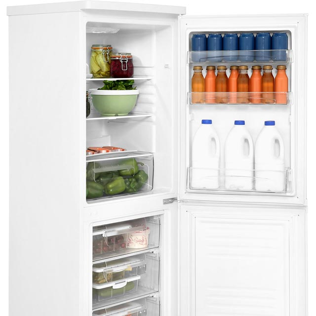 Candy CSS5175WE 50/50 Fridge Freezer - White - CSS5175WE_WH - 3