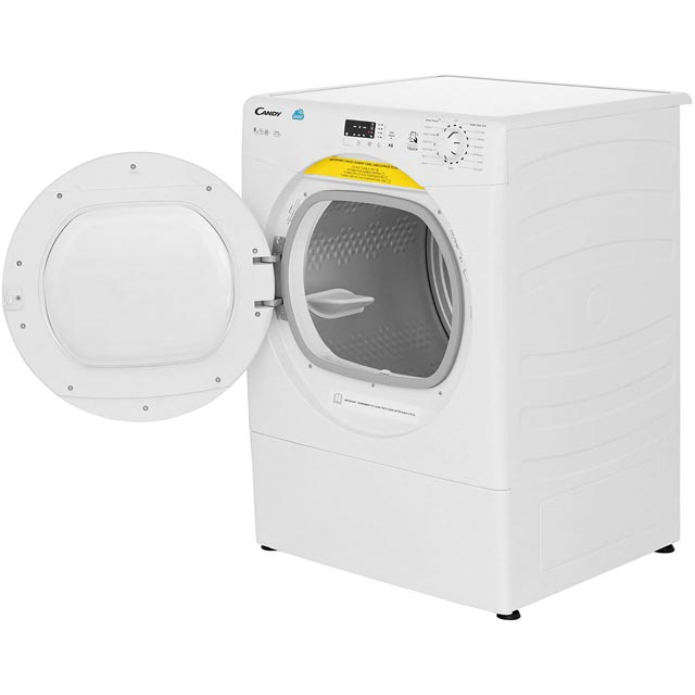 Candy Grand'O Vita CSVV9LG 9Kg Vented Tumble Dryer - White - C Rated - CSVV9LG_WH - 2