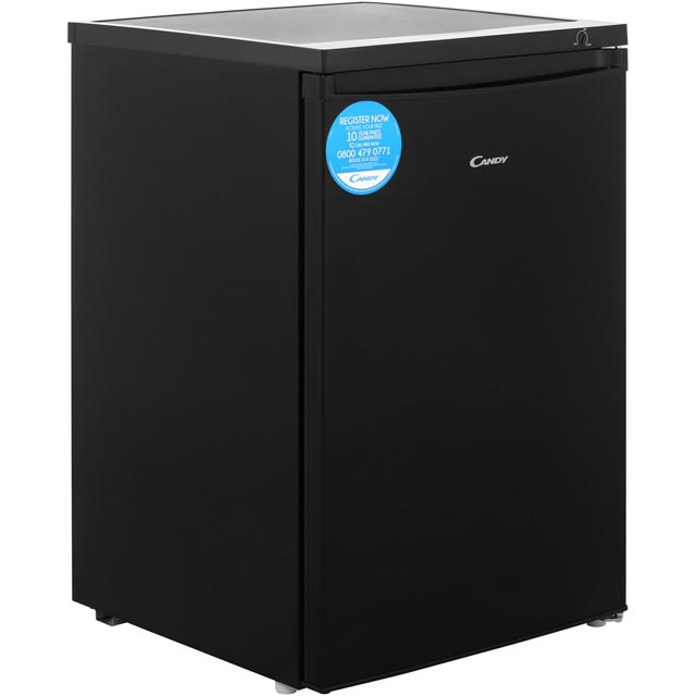 Candy CTZ552BK Under Counter Freezer - Black - A+ Rated - CTZ552BK_BK - 1