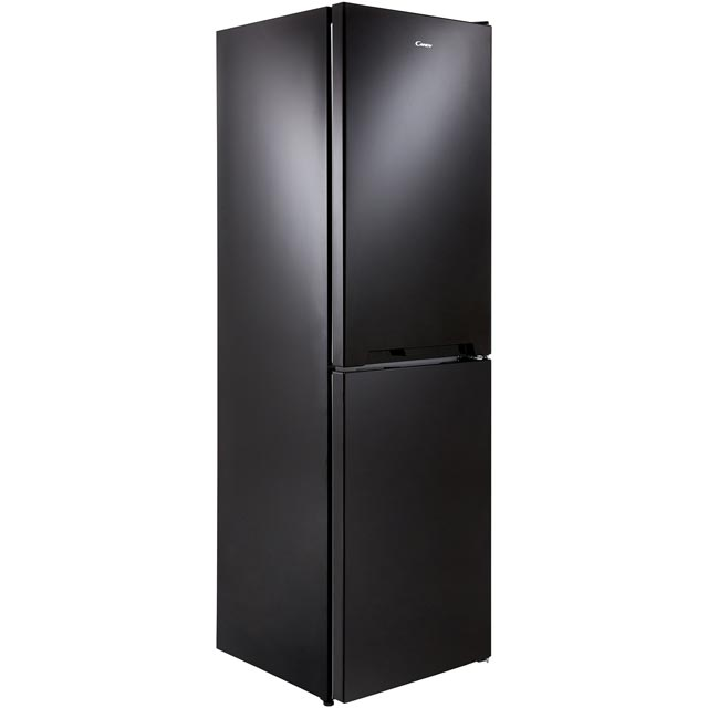 Candy CVS1745BK Fridge Freezer - Black - CVS1745BK_BK - 1
