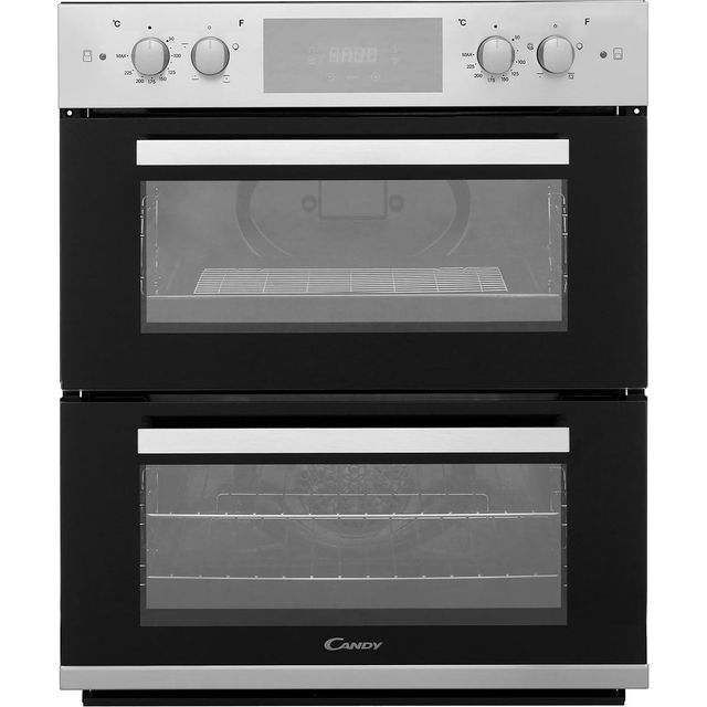 Candy FC7D415X Built Under Electric Double Oven - Stainless Steel - FC7D415X_SS - 1