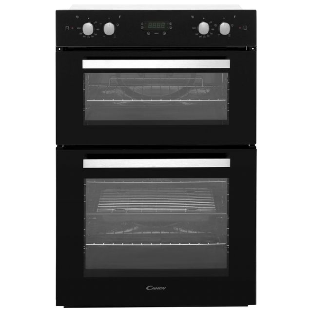 Candy FC9D415NX Built In Double Oven - Black - A/A Rated - FC9D415NX_BK - 1