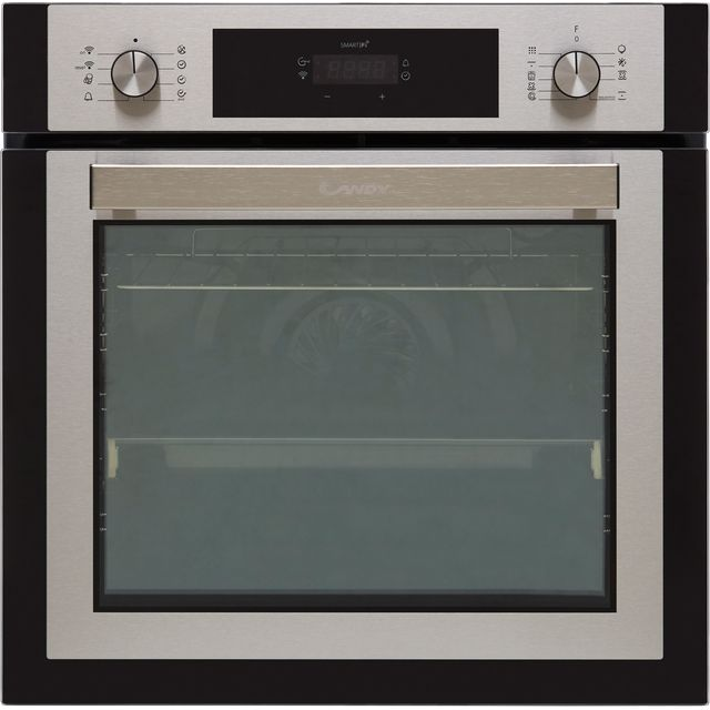 Candy Elite FCNE886X WIFI Built In Electric Single Oven - Stainless Steel - FCNE886X WIFI_SS - 1
