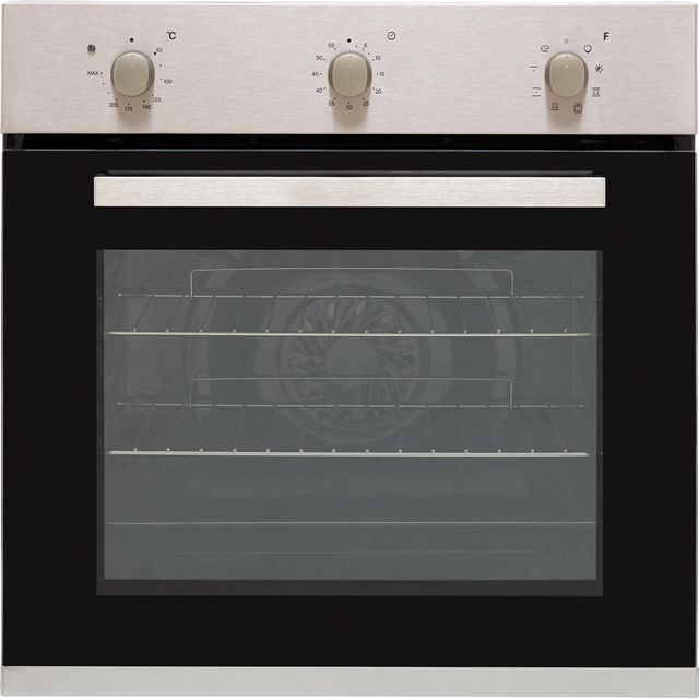 Candy FCP602X Built In Electric Single Oven - Stainless Steel - A+ Rated - FCP602X_SS - 1