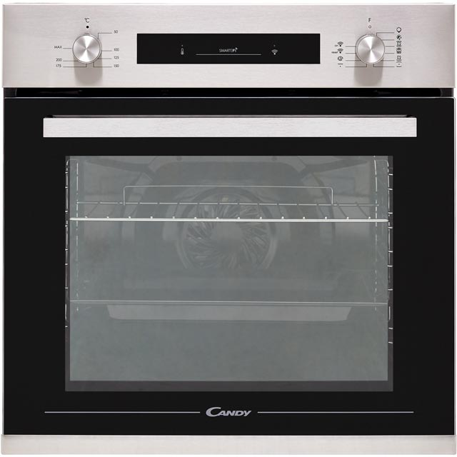 Candy FCP602XE0/E Built In Electric Single Oven - Stainless Steel - FCP602XE0/E_SS - 1