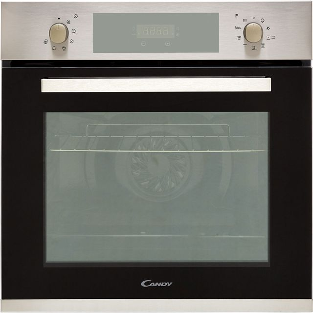 Candy FCPK606X Built In Electric Single Oven - Stainless Steel - A Rated - FCPK606X_SS - 1