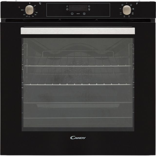 Candy FCPX615NX Built In Electric Single Oven - Black - FCPX615NX_BK - 1