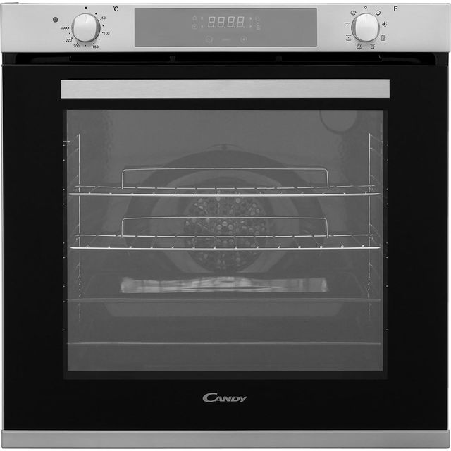 Candy FCXP615X Built In Electric Single Oven - Stainless Steel - A Rated - FCXP615X_SS - 1