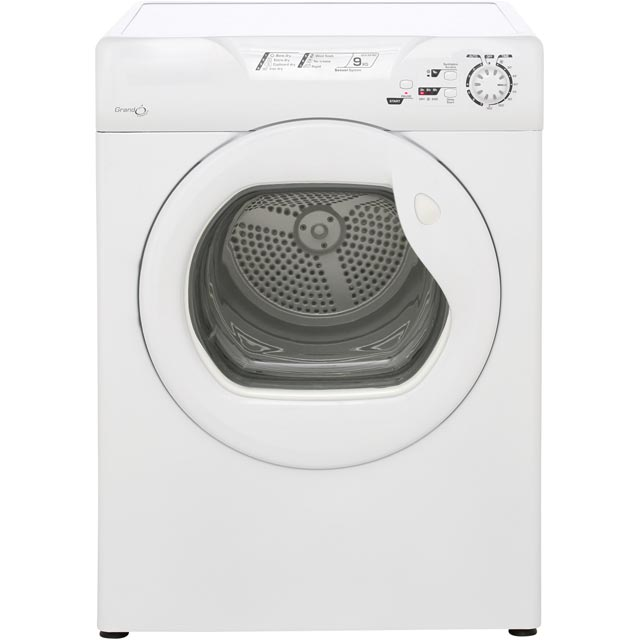 Candy Grand'O GCV591NC Free Standing Vented Tumble Dryer in White
