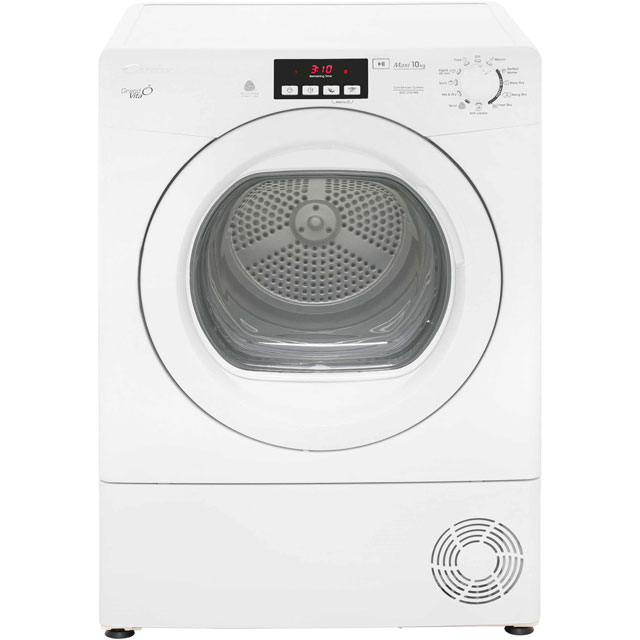 Candy Grand'O Vita GVCD101WB Free Standing Condenser Tumble Dryer in White