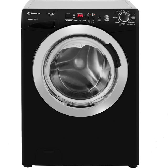 Candy Grand'O Vita GVS1410DC3B 10Kg Washing Machine with 1400 rpm - Black - GVS1410DC3B_BK - 1