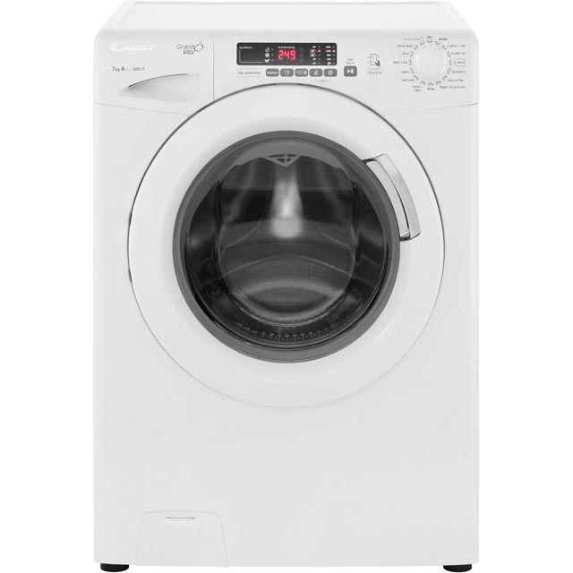 Candy Grand'O Vita GVS1672D3 7Kg Washing Machine with 1600 rpm - White - A+++ Rated - GVS1672D3_WH - 1