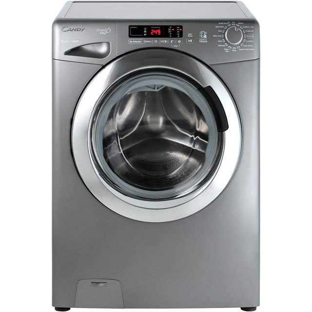 Candy Grand'O Vita GVS168DC3R 8Kg Washing Machine with 1600 rpm - Graphite - A+++ Rated - GVS168DC3R_GH - 1