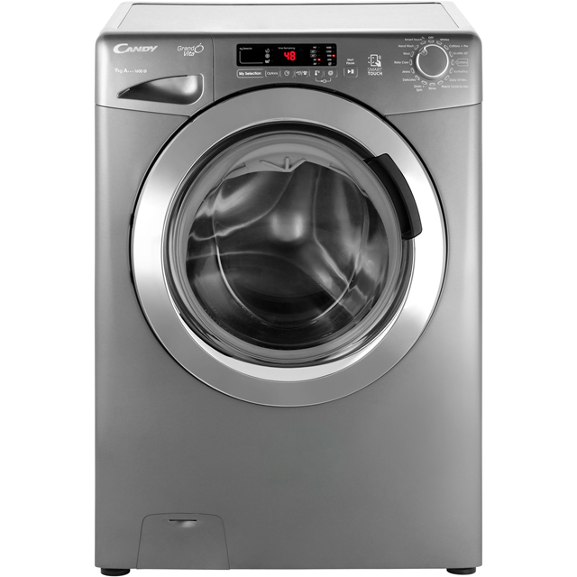 Candy Grand'O Vita GVS169DC3R 9Kg Washing Machine with 1600 rpm - Graphite - A+++ Rated - GVS169DC3R_GH - 1
