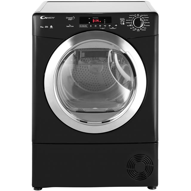 Candy Grand'O Vita GVSC10DCEB 10Kg Condenser Tumble Dryer - Black - B Rated - GVSC10DCEB_BK - 1