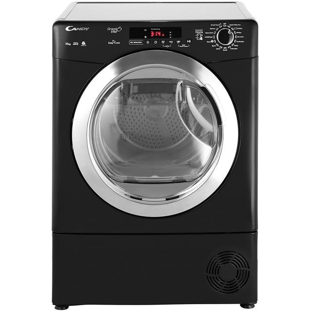 Candy Grand'O Vita GVSC10DCEB Free Standing Condenser Tumble Dryer in Black