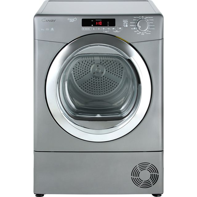 Candy Grand'O Vita GVSC10DCGR 10Kg Condenser Tumble Dryer - Graphite - B Rated - GVSC10DCGR_GH - 1