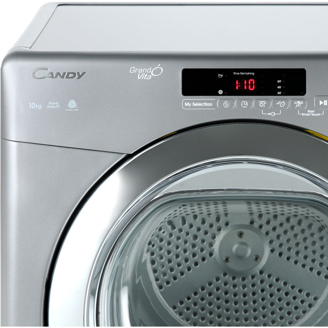 Candy Grand'O Vita GVSC10DCGR Condenser Tumble Dryer - Graphite - GVSC10DCGR_GH - 3
