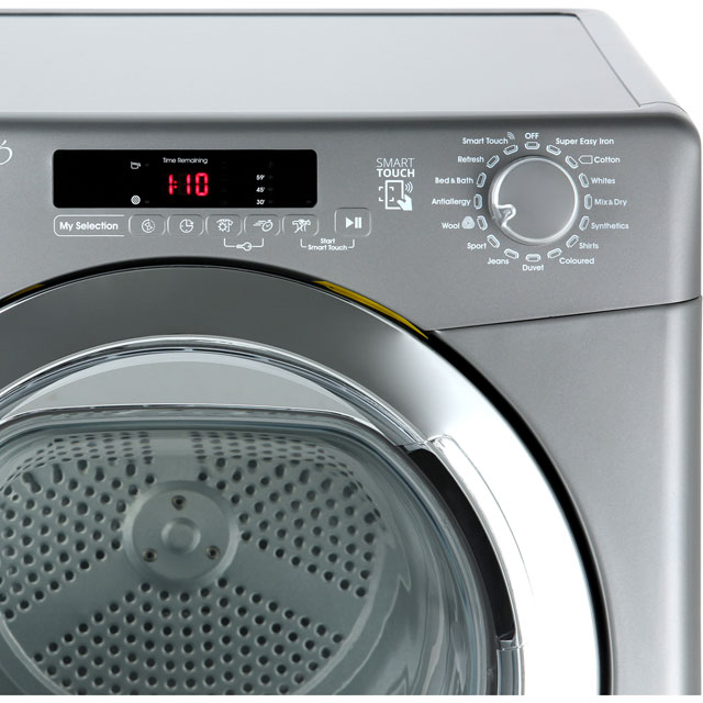 Candy Grand'O Vita GVSC10DCGR Condenser Tumble Dryer - Graphite - GVSC10DCGR_GH - 4