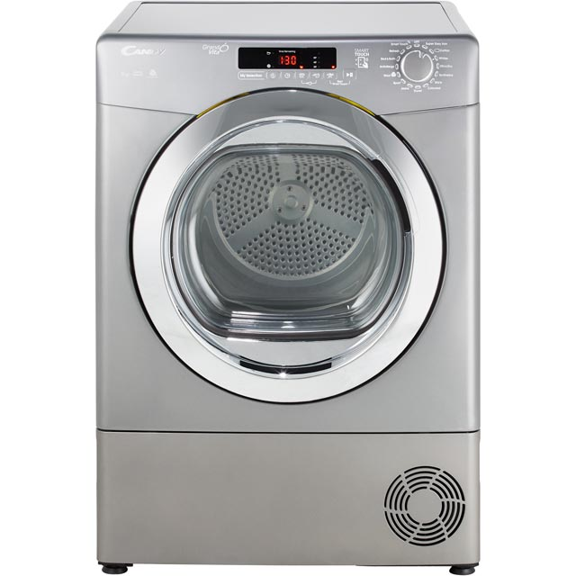 Candy Grand'O Vita GVSC9DCRG 9Kg Condenser Tumble Dryer - Graphite - B Rated - GVSC9DCRG_GH - 1