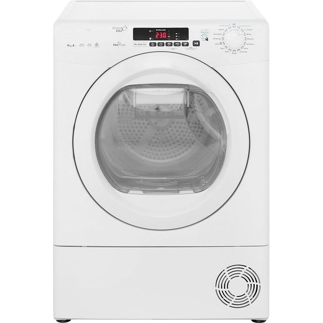 Candy Grand'O Vita GVSH9A2DE Heat Pump Tumble Dryer - White - GVSH9A2DE_WH - 1