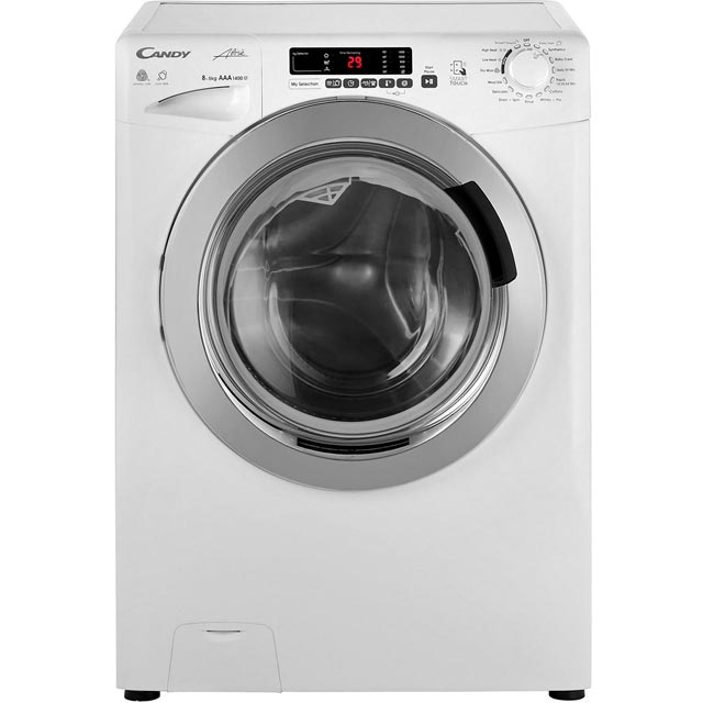 Candy Grand'O Vita GVSW485DC 8Kg / 5Kg Washer Dryer with 1400 rpm - White - GVSW485DC_WH - 1