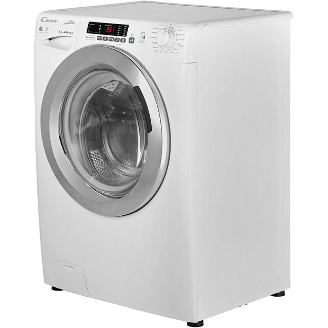 Candy Grand'O Vita GVSW485DC 8Kg / 5Kg Washer Dryer - White - GVSW485DC_WH - 2